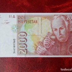 Billetes españoles: SC - SERIE 3G - BILLETE DE 2000 PESETAS DE 1992 - CELESTINO MUTIS. Lote 270377413