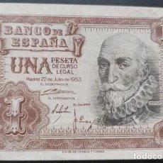 Notas espanholas: 1 PESETA 1953 (SERIE 1A) EBC-. Lote 214200163