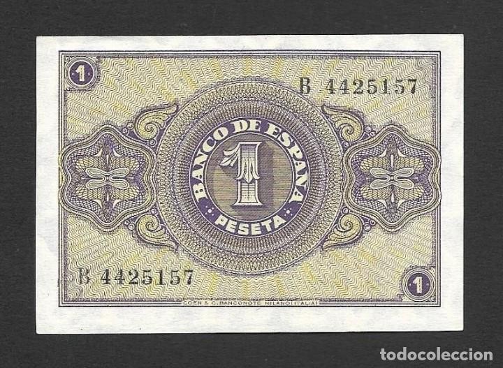 Billetes españoles: 1 PESETA OCTUBRE 1937 S/C - Foto 2 - 270905558