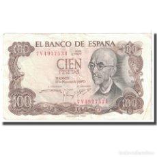 Billetes españoles: [#124595] BILLETE, 100 PESETAS, 1970, ESPAÑA, 1970-11-17, KM:152A, MBC. Lote 271471963