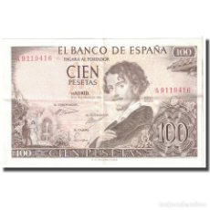 Billetes españoles: [#124587] BILLETE, 100 PESETAS, 1965, ESPAÑA, 1965-11-19, KM:150, EBC. Lote 271472283