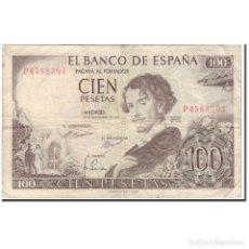 Billetes españoles: [#126665] BILLETE, 100 PESETAS, ESPAÑA, 1965-11-19, KM:150, BC. Lote 271472598