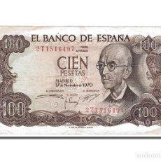 Billetes españoles: [#151219] BILLETE, 100 PESETAS, 1970, ESPAÑA, 1970-11-17, MBC+. Lote 271473343