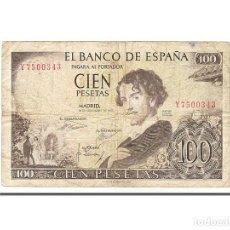 Billetes españoles: [#155720] BILLETE, 100 PESETAS, 1965, ESPAÑA, 1965-11-19, BC. Lote 271474508