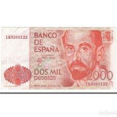 Billetes españoles: [#155718] BILLETE, 2000 PESETAS, 1980, ESPAÑA, 1980-07-22, MBC+. Lote 271474513