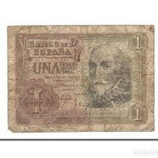 Billetes españoles: [#156172] BILLETE, 1 PESETA, 1953, ESPAÑA, 1953-07-22, RC. Lote 271474718