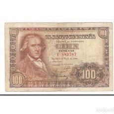 Billetes españoles: [#157944] BILLETE, 100 PESETAS, 1948, ESPAÑA, 1948-05-02, BC. Lote 271475103