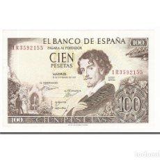 Billetes españoles: [#159370] BILLETE, 100 PESETAS, 1965, ESPAÑA, KM:150, 1965-11-19, EBC. Lote 271475538