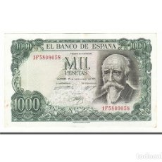Billetes españoles: [#160588] BILLETE, 1000 PESETAS, 1971, ESPAÑA, KM:154, 1971-09-17, EBC. Lote 271476233