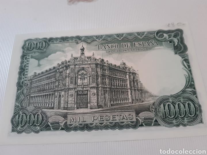 Billetes españoles: Billete de 1000 pesetas , MBC, Septiembre de 1971, Serie U - Foto 2 - 272097703