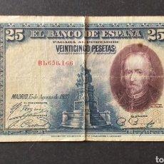 Billetes españoles: BILLETE DE 25 PESETAS ESPAÑA AÑO 1928. Lote 273273073