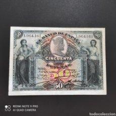 Billetes españoles: 50 PESETAS 1907. Lote 274304958