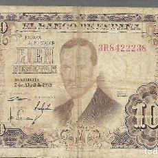 Billetes españoles: BILLETES DE ESPAÑA FRANCO LOS QUE VES BILLETE DE 100 PESETAS. Lote 275576128