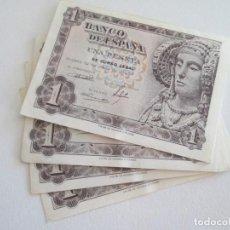 Billetes españoles: BILLETE * 1 PESETA 19 DE JUNIO DE 1948 * SC * LOTE DE 8 BILLETES. Lote 275793073