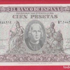Billetes españoles: BILLETES ESPAÑOLES-ESTADO ESPAÑOLL 100 PESETAS 1940 (SERIE H) (SC-). Lote 276283948