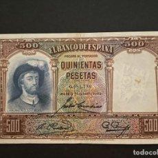 Billetes españoles: 500 PESETAS 1931 MBC L-51. Lote 277070473