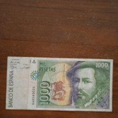 Billetes españoles: BILLETE DE ESPAÑA 1000 PESETAS. Lote 277090798