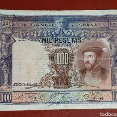 Billetes españoles: BILLETE DE 1000 PESETAS - CARLOS I - 1925 - MBC.. Lote 278543533