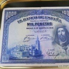 Billetes españoles: BILLETE 1000 PESETAS DE 1928. Lote 279529638
