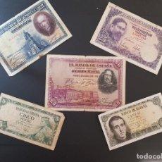 Billetes españoles: GRAN LOTE DE BILLETES ESPAÑOLES. Lote 285588318