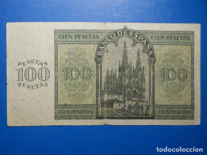 Billetes españoles: Billete 100 Pts - Pesetas - 1936 21 Noviembre Estado Español Burgos Giesecke Devrient - Foto 4 - 34263275