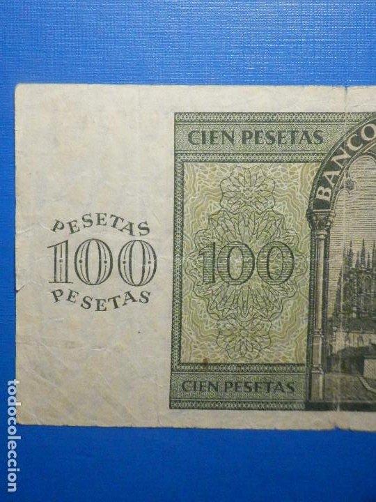Billetes españoles: Billete 100 Pts - Pesetas - 1936 21 Noviembre Estado Español Burgos Giesecke Devrient - Foto 5 - 34263275