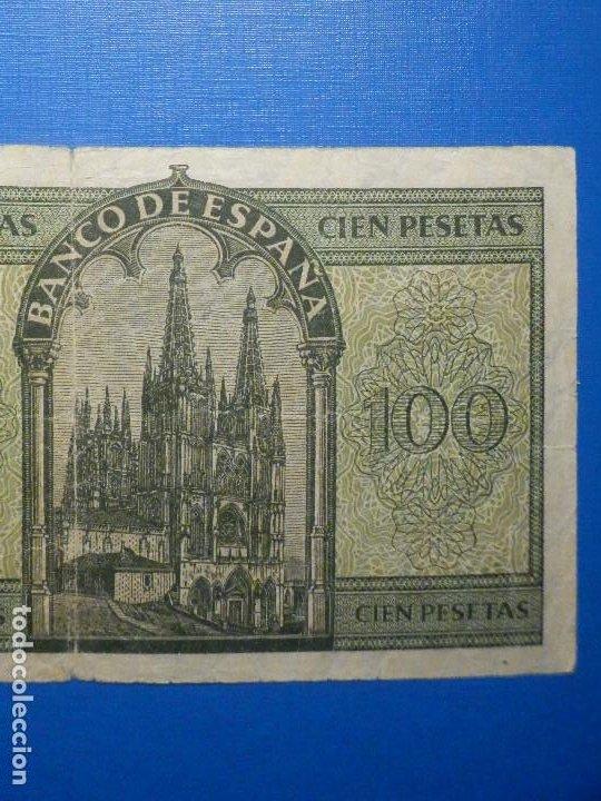 Billetes españoles: Billete 100 Pts - Pesetas - 1936 21 Noviembre Estado Español Burgos Giesecke Devrient - Foto 6 - 34263275
