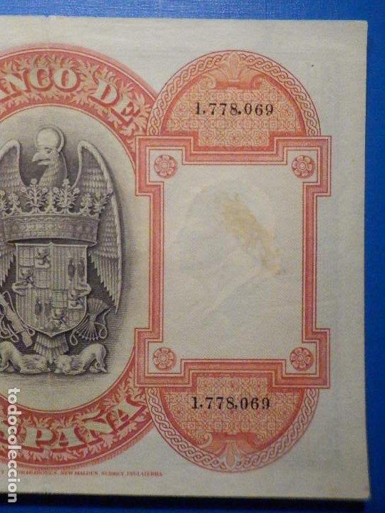 Billetes españoles: Billete 500 Pts Pesetas - Año 1927, 24 Julio - Alfonso XIII II República España, Isabel la Católica - Foto 6 - 34267800