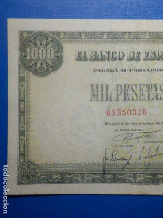 Billetes españoles: Billete 1000 Pts Pesetas - Año 1949 - 4 de Noviembre - Estado Español - D Ramón de Santillán - Foto 2 - 34263543
