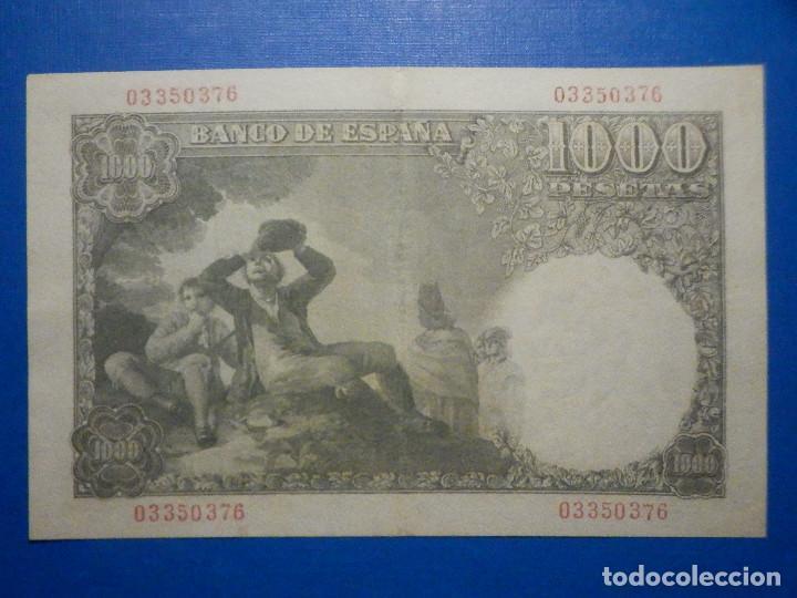 Billetes españoles: Billete 1000 Pts Pesetas - Año 1949 - 4 de Noviembre - Estado Español - D Ramón de Santillán - Foto 4 - 34263543
