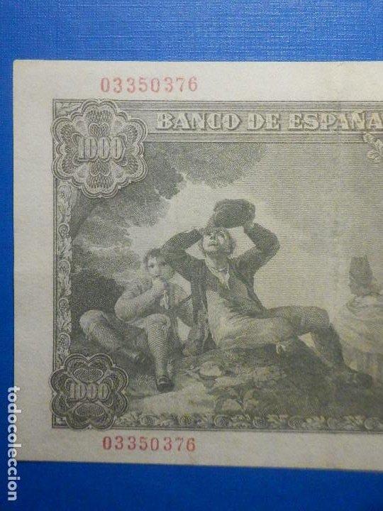 Billetes españoles: Billete 1000 Pts Pesetas - Año 1949 - 4 de Noviembre - Estado Español - D Ramón de Santillán - Foto 5 - 34263543
