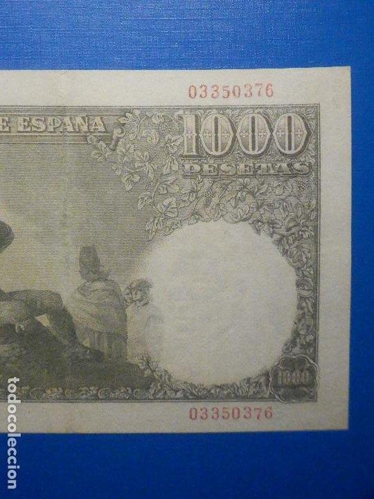 Billetes españoles: Billete 1000 Pts Pesetas - Año 1949 - 4 de Noviembre - Estado Español - D Ramón de Santillán - Foto 6 - 34263543