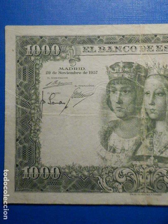 Billetes españoles: Billete 1000 pesetas 29 Noviembre 1957 - Reyes Católicos - Sin Serie - - Foto 2 - 35731724