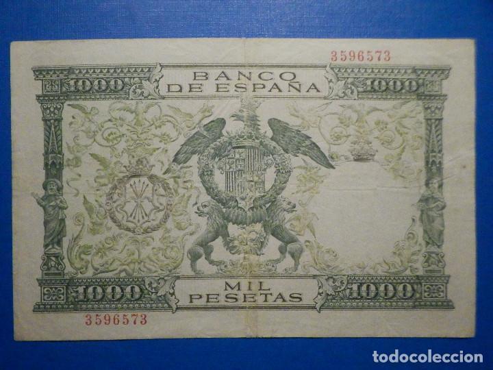Billetes españoles: Billete 1000 pesetas 29 Noviembre 1957 - Reyes Católicos - Sin Serie - - Foto 4 - 35731724