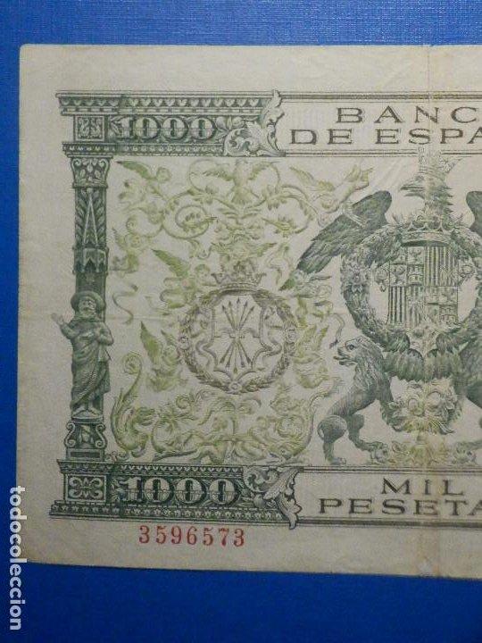 Billetes españoles: Billete 1000 pesetas 29 Noviembre 1957 - Reyes Católicos - Sin Serie - - Foto 5 - 35731724