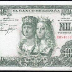 Billetes españoles: 1000 PESETAS 1957 SERIE E MBC+. Lote 286949903