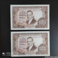 Billetes españoles: 100 PESETAS 1953 SERIE A!!. Lote 287214193