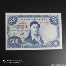 Billetes españoles: 500 PESETAS 1954 SERIE A!. Lote 287216468