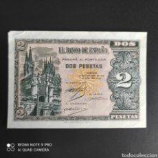 Billetes españoles: 2 PESETAS 1937. Lote 287218213