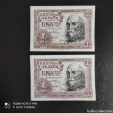 Billetes españoles: 1 PESETA 1953 SIN SERIE. Lote 287218623