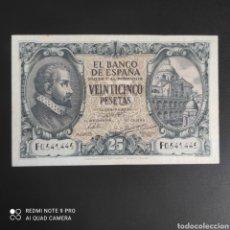 Billetes españoles: 25 PESETAS 1940. Lote 287218863