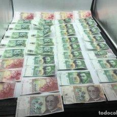 Billetes españoles: COLECCIÓN DE BILLETES PESETA VER FOTOS. Lote 287582193