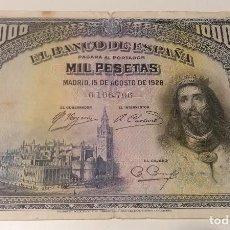 Billetes españoles: BILLETE 1000 PESETAS SAN FERNANDO 1928 (2). Lote 287804688