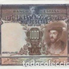 Billetes españoles: 1000 PESETAS 1925 SC_ EBC +. REF 75RG. Lote 288396208
