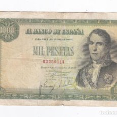 Billetes españoles: 1000 PESETAS- 04 DE NOVIEMBRE DE 1949. Lote 288502333