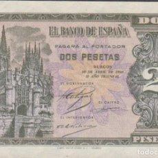 Billetes españoles: BILLETES ESPAÑOLES - ESTADO ESPAÑOL 2 PESETAS 1938 SERIE L (SC). Lote 290182123