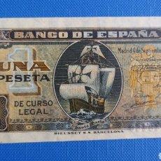 Banconote spagnole: BILLETE 1 PESETA 1940 SIN CIRCULAR. Lote 290473923