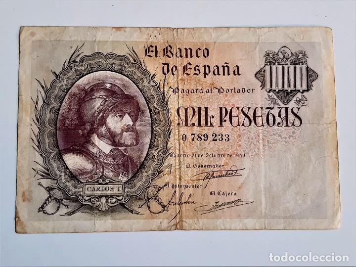 ESPAÑA 1000 PESETAS 1940 (Numismática - Notafilia - Billetes Españoles)