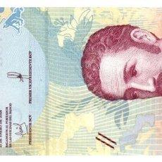 Billetes españoles: BILLETE DE VENEZUELA DE 5 BOLIVARES EN PERFECTO ESTADO. Lote 291969263