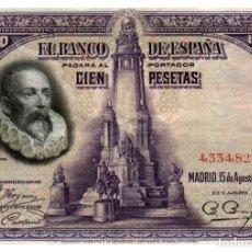 Banconote spagnole: BILLETE DE ESPAÑA DE 100 PESETAS DE 1928 CIRCULADO. Lote 293563588